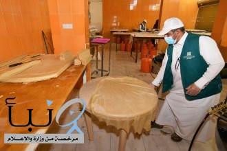 ضبط معملين لرقائق السمبوسة مخالفة للاشتراطات الصحية في خميس مشيط