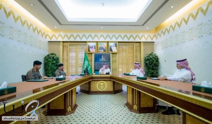 سمو أمير منطقة القصيم يطلع على تقرير أعمال لجنة المسح النشط والكشف على مساكن العمالة بالمنطقة