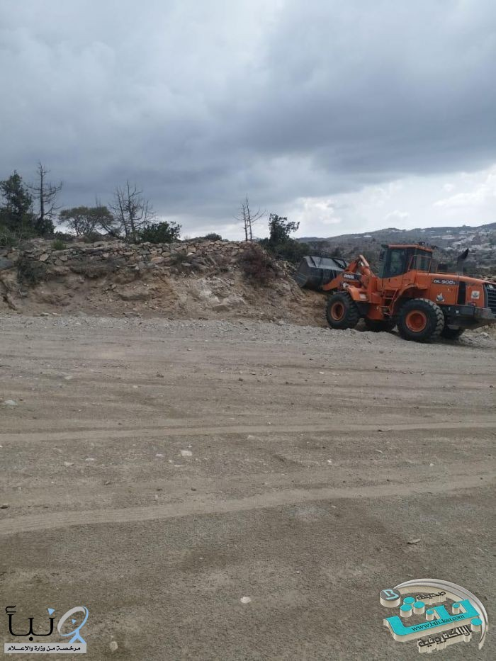 بلدية #النماص ولجنة التعديات تستعيدان ١٢٠٠٠م٢ من الأراضي الحكومية