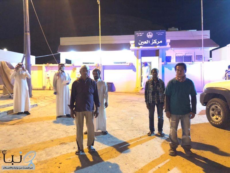 لجنة دراسة اوضاع سكن العمالة بمحافظة #الدلم تزور  مركز العين
