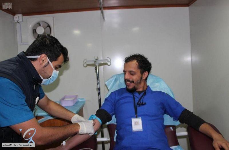"""مجلس شباب الباحة يختتم برنامج """" خيرك يوصلنا من بيتك للتبرع بالدم """""""