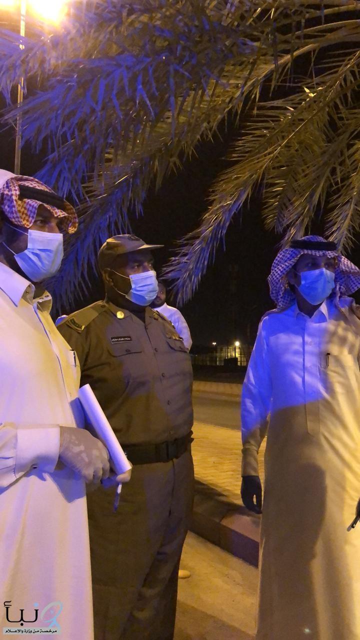 لجنة تنظيم سكن العمالة بمحافظة #الدلم تواصل عمليات التفتيش على مساكن العمالة