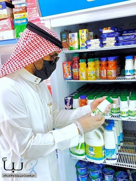بلدية الشريم بالحدود الشمالية تنفذ جولة رقابية على المنشآت الغذائية