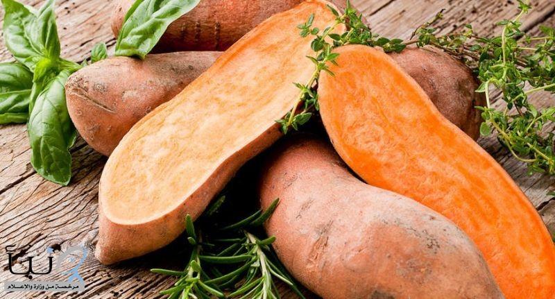 فوائد البطاطا الحلوه وطريقة جديده لشويها فى 10 دقائق