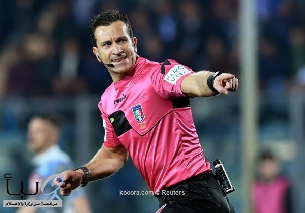 الحكم دانييلي دوفيري يدير نهائي كأس إيطاليا بين يوفنتوس ونابولي