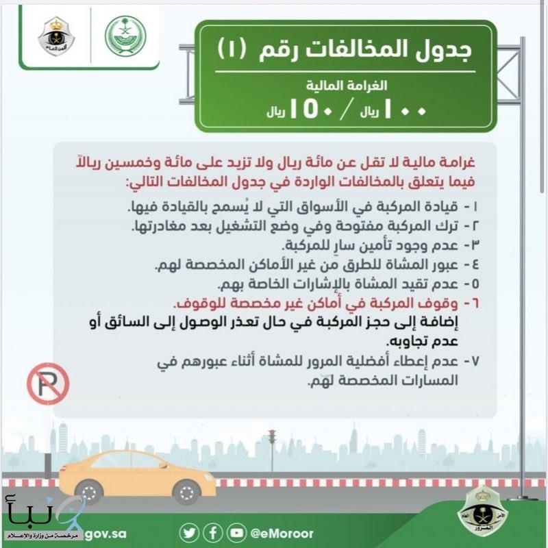 #المرور: عدم وجود تأمين للمركبة يعد مخالفة مرورية