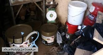 مصادرة وإتلاف أكثر من نصف طن من منتجات التبغ مجهولة المصدر في بلدية العمرة بمكة