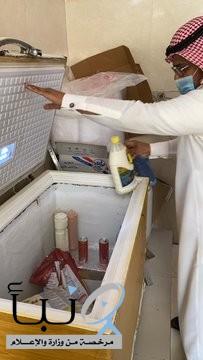 إغلاق 21 محلاً مخالفا  في #أبوعريش