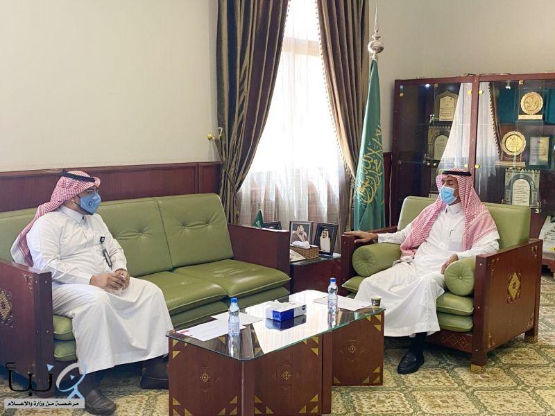 #محافظ_الخرج يستقبل مدير عام فرع هيئة الهلال الأحمر السعودي بمنطقة الرياض