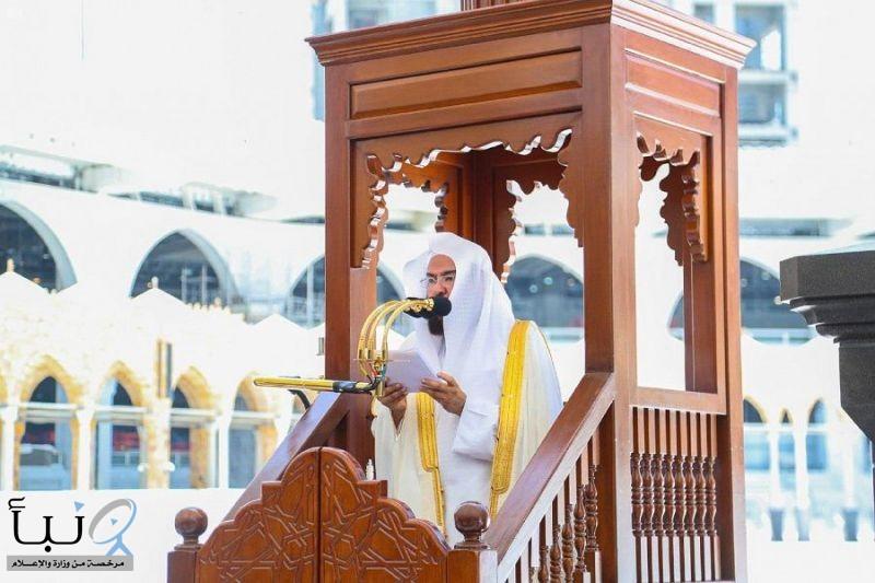 إمام وخطيب المسجد الحرام  السديس:  يطالب  التقيد التام بالإرشادات الطبية، والإجراءات الاحترازية،