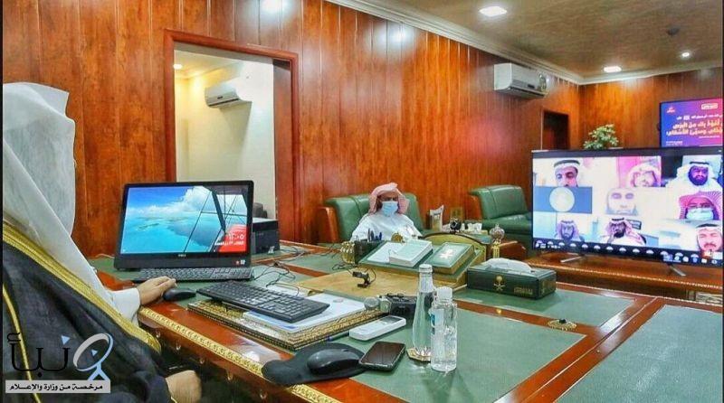الدكتور السند يلتقي منسوبي فرع الرئاسة العامة بمنطقة عسير عبر الاتصال المرئي