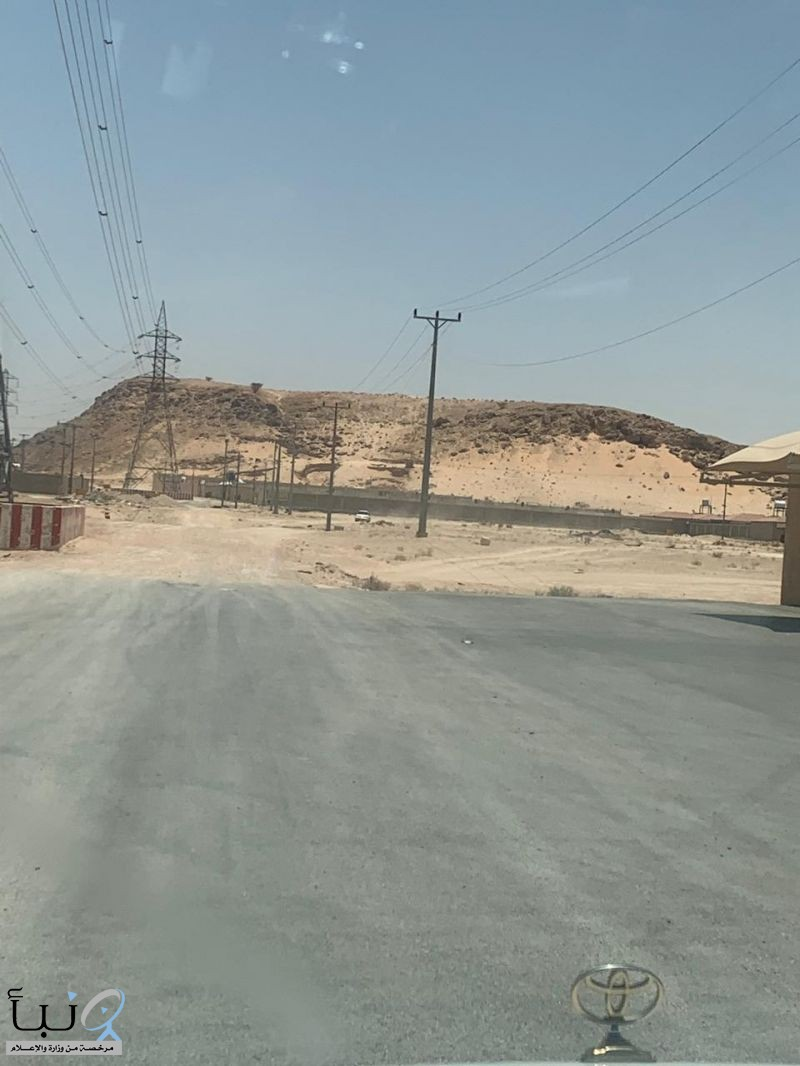 #الخرجي رجل الأثار يقترح بوضع لوحة بإسم #الخرج على قمة #جبل يقع بمدخل المحافظة