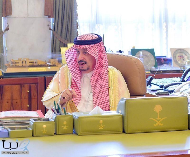 سمو أمير منطقة الرياض يستقبل مساعد وزير الموارد البشرية والتنمية الاجتماعية