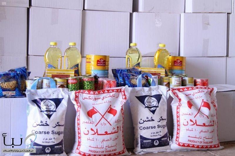 جمعية البر الخيرية #بلينة تشرع بتوزيع 400 سلة غذائية لمستفيديها