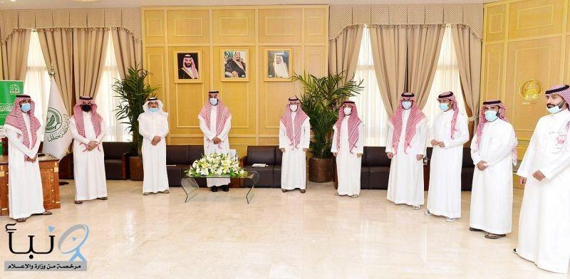 سمو نائب أمير حائل يوافق على توقيع اتفاقية بين مجلس شباب المنطقة ومكتب سند للمحاماة  