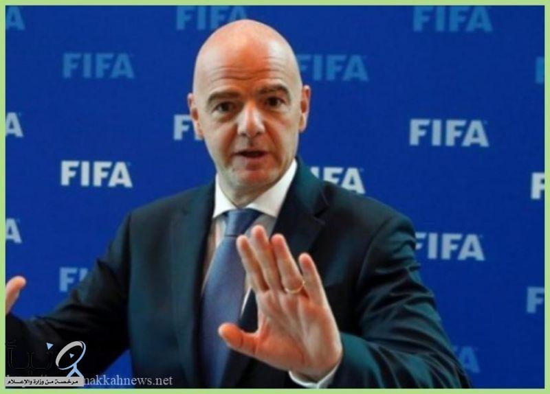 """رئيس """"فيفا"""" يتعهد بعدم تكرار وقائع الفساد"""
