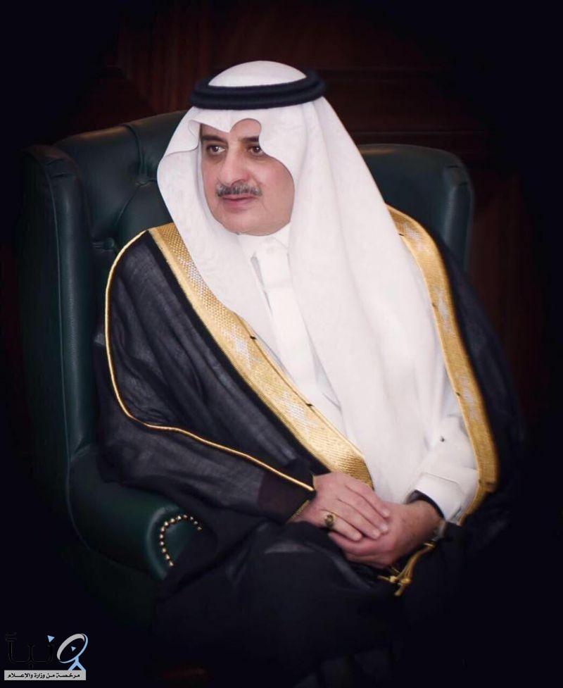 سمو أمير تبوك يعزي رئيس المحكمة الجزائية بالمنطقة بوفاة والده
