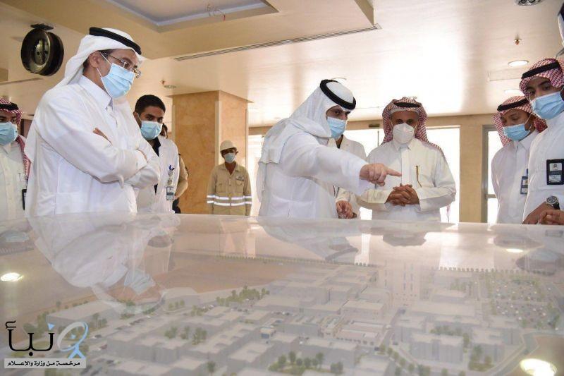 د. العمرو يتفقّد مستشفى الملك سلمان