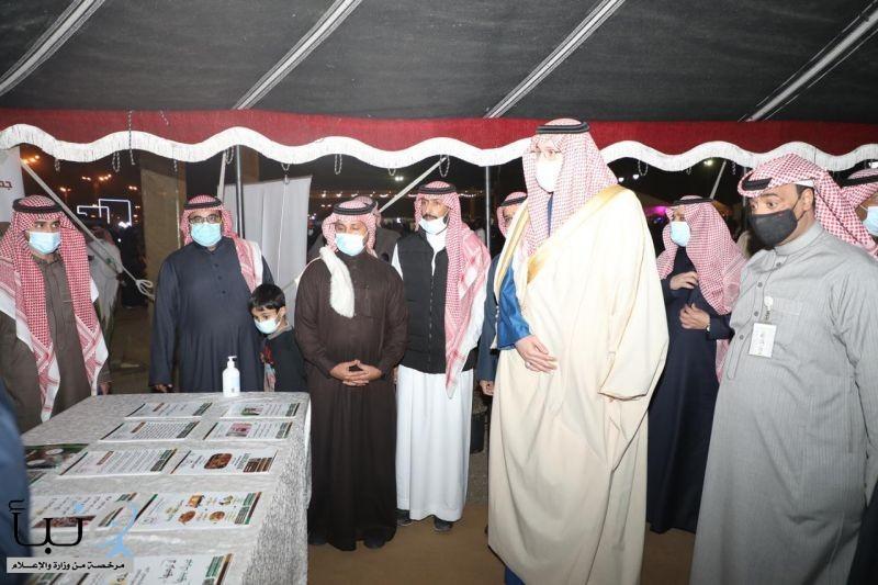 الأمير عبدالاله بن عبدالرحمن يزور مهرجان #شتاء_الخرج و يشيد بالمهرجان و تنوع فعالياته