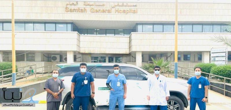 """مستشفى صامطة العام ينفذ """"13301 """" زيارة منزلية استفاد منها 672 مريضًا ومريضة"""