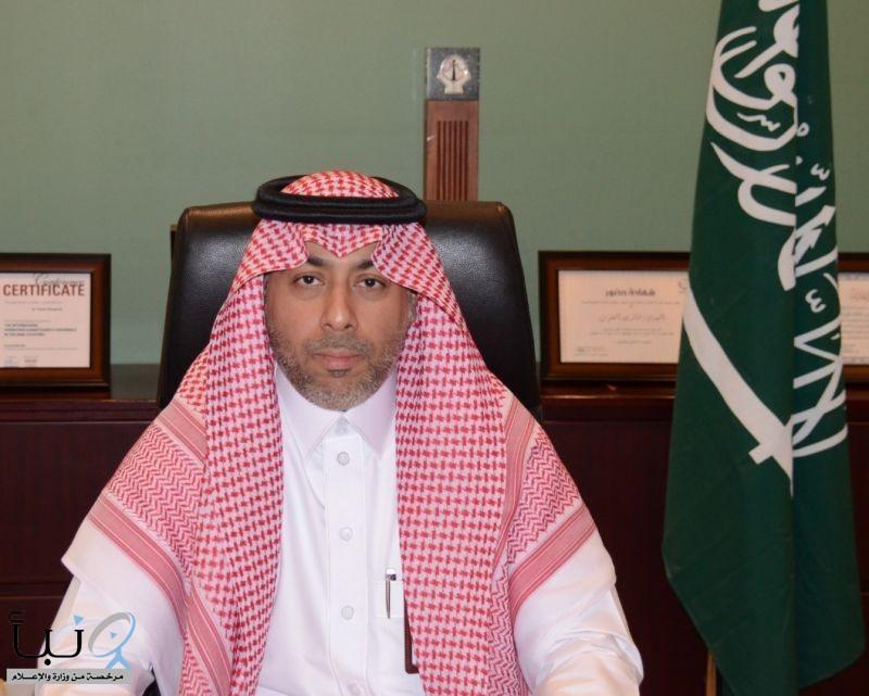 ترقية المهندس خالد المغلوث إلى المرتبة الثالثة عشر