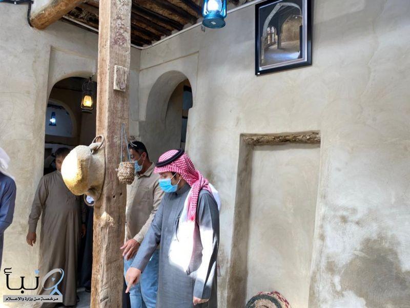 بلدية القطيف تفتتح أول منزل تاريخي معاد تأهيله في تاروت