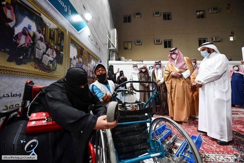 سمو نائب أمير منطقة المدينة المنورة يفتتح مقر جمعية طيبة للإعاقة الحركية