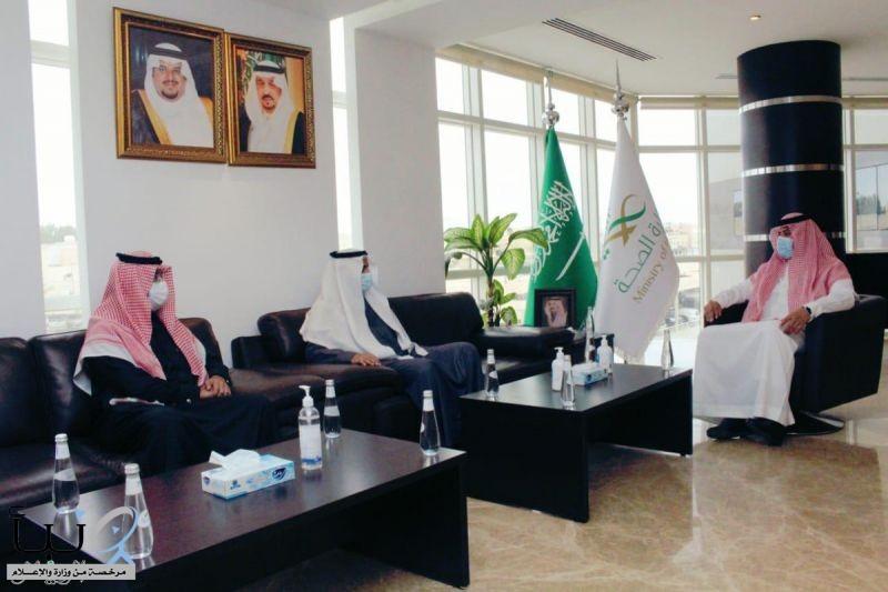 """"""" صحة الرياض """" و """"شامخ"""" يوقعان اتفاقية شراكة مجتمعية"""