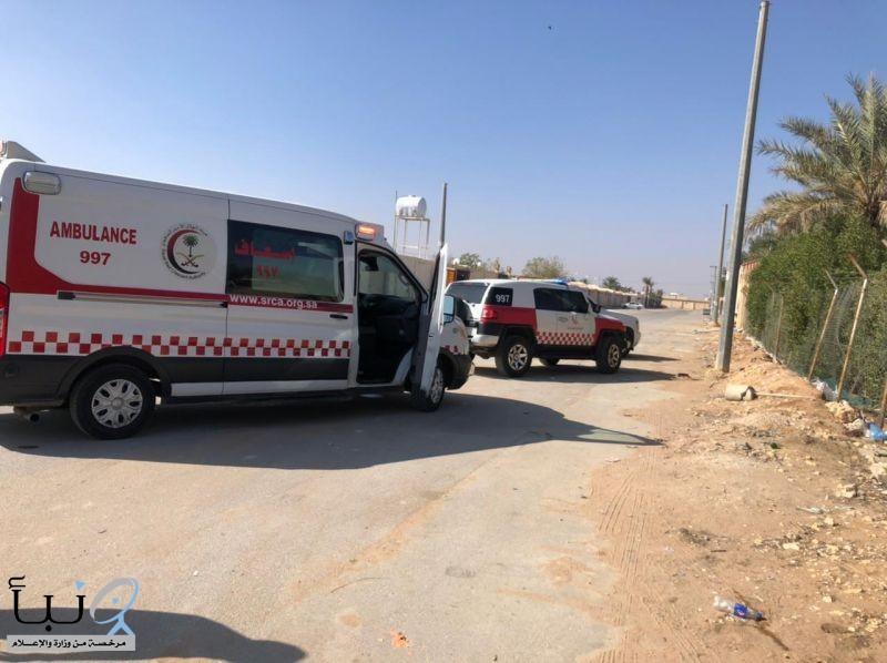 الهلال الأحمر يباشر 8 إصابات بحادث تسرب غاز وحالة ووفاة بالرياض