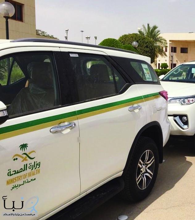 شرائح وقود مجانية لمركبات نقل المرضى بمجمع إرادة بالرياض