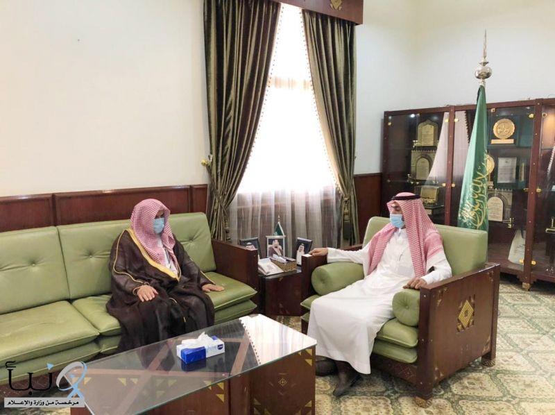 الرويس   مديراً لإدارة المساجد والدعوة والإرشاد بمحافظة الخرج .