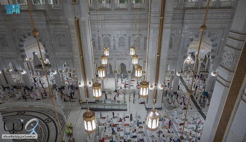 خدمات متميزة للتوسعة الشمالية للمسجد الحرام