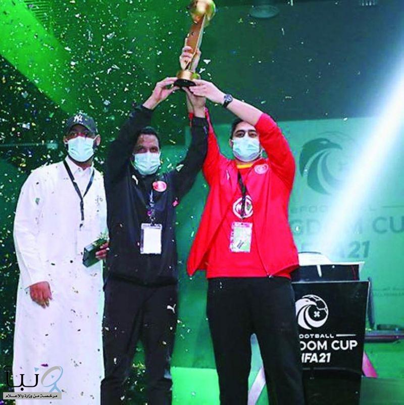 القادسية بطلاً لكرة القدم الإلكترونية fifa21