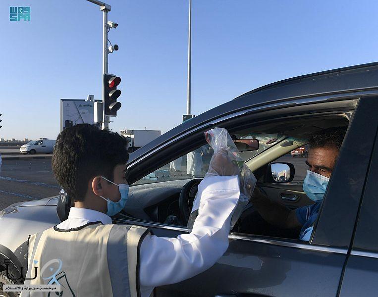 """جمعية حفظ النعم بتبوك تواصل تفعيل مبادرة """" نحفظها لتدوم """" للحد من هدر الأطعمة وعدم الإسراف"""