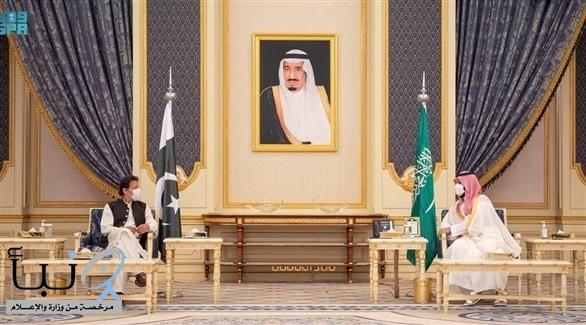 صدور بيان مشترك إثر زيارة رئيس وزراء باكستان للمملكة #عاجل