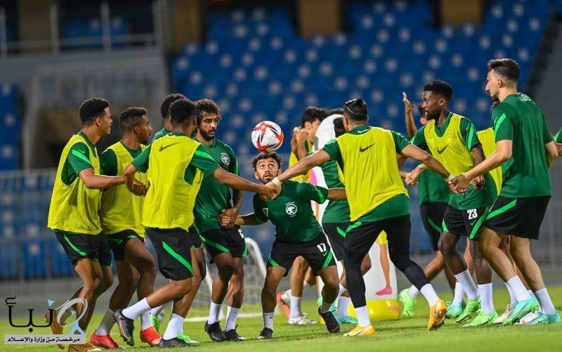 """أخضر """"تحت 23 عامًا"""" يختتم تحضيراته لمواجهة أوغندا وديًا غدًا لأولمبياد طوكيو 2020"""
