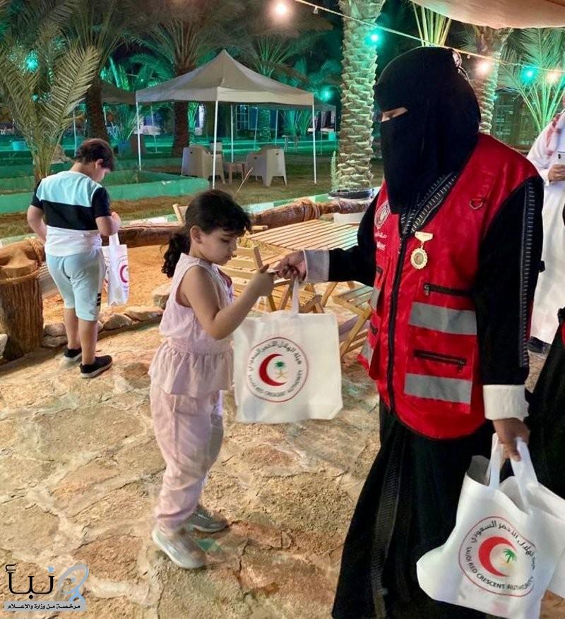 الهلال الأحمر بالجوف يحتفي باليوم العالمي للإسعافات الأولية