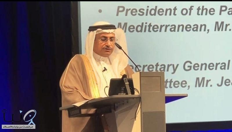 """""""العسومي"""" يطلق شراكة البرلمان العربي مع الاتحاد البرلماني الدولي في تعريب أول تطبيق إلكتروني عالمي لمكافحة الإرهاب"""