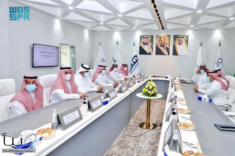 """مدير عام """"هدف"""" يلتقي المدير العام للمعهد السعودي التقني للتعدين بعرعر"""