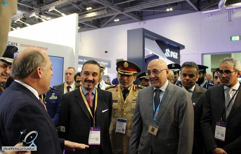 سمو سفير خادم الحرمين الشريفين لدى المملكة المتحدة يقيم مأدبة غداء على هامش معرض الدفاع والأمن الدولي