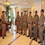 مدير الدفاع المدني بتبوك يقلّد عدداً من الضباط رتبهم الجديدة