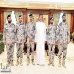 سمو أمير جازان يقلّد عددًا من ضباط حرس الحدود رتبهم الجديدة