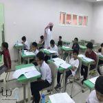 مركز الموهوبين (وحدة التعرف)يستقبل  طلاب مدرسة حسان بن ثابت ومدرسة جابر بن عبدالله و القادسية