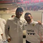 صورة متداولة لنجل الأمير فيصل بن تركي مع ميسي تصدم نشطاء