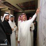 مدير جامعة الأمير سطام يزور كليات محافظة حوطة بني تميم