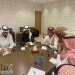 المنصور يعقد إجتماع مع مديري الأقسام بزراعة #الخرج