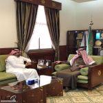 #محافظ الخرج يستقبل العصيمي بمناسبة تعينه مديرا لمستشفى القويعية