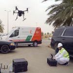 #أمانة_القصيم تستخدم طائرة درون حرارية لمراقبة درجة حرارة المتسوقين بمدينة الأنعام في بريدة