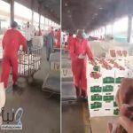 #التجارة تعلق على #مواطن يوثق عمالة ترفض بيع الخضار على الزبائن