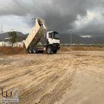#بلدية_بارق تبدأ بإنشاء حديقة المركز الحضاري وسط المحافظة